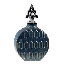 Ceramic Lidded Decorative Jar