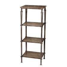 4 Tier Vintage Shelf