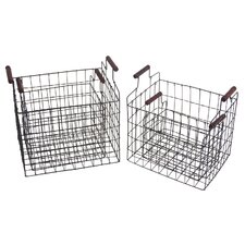 4 Piece Square Basket Set