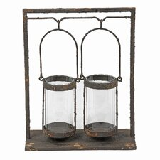 Iron Double Candle Lantern