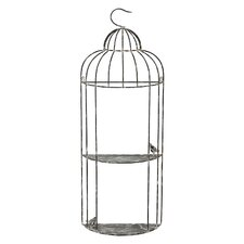 2 Tier Bird Cage Wall Decor