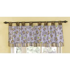 <strong>CoCo & Company</strong> Monkey Time Cotton Blend Curtain Valance