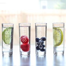 Cheers Shooter Glass (Set of 4)