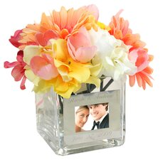 <strong>Cathys Concepts</strong> Wedding Vase with Photo Frame