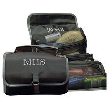 <strong>Cathys Concepts</strong> Personalized Men's Microfiber Toiletry Bag