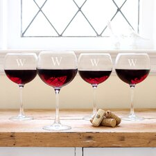 <strong>Cathys Concepts</strong> Red Wine Glass (Set of 4)