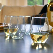 <strong>Cathys Concepts</strong> Stemless Wine Glass (Set of 4)