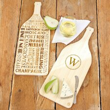 Personalized Reversible Wine Serving Board