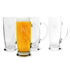 Personalized Craft Beer Mug (Set of 4)