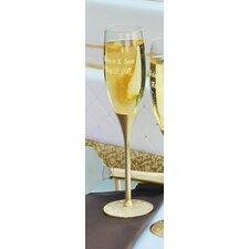 Gold Parisian Champagne Flute