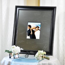 Wedding Elegant Signature Picture Frame