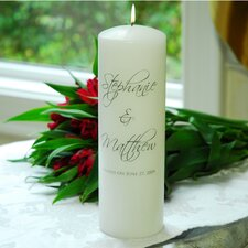 4 Piece Scriptina Unity Candle Set