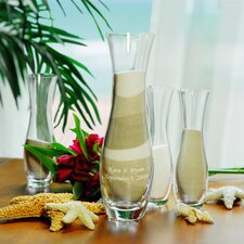 Wedding Sand Ceremony Unity Sand Vases (Set of 4)