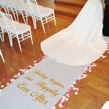 <strong>Cathys Concepts</strong> Celebrations Custom Aisle Runner