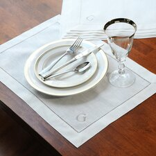 <strong>Cathys Concepts</strong> Linen Hemstitch Placemat (Set of 6)