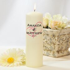 Embracing Hearts Unity Candle