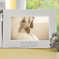 Beaded Horizontal Picture Frame