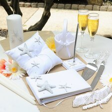 Wedding Beach Unity Pillar and Taper Candles (Set of 3)