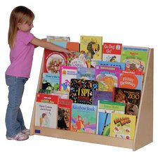 <strong>Steffy Wood Products</strong> Five Shelf Book Display Unit