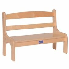 Birch Veneer Toddler Bedroom Bench