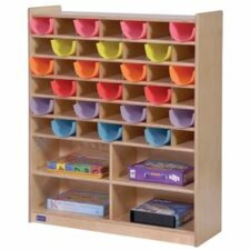 Mail and Storage 42 Compartment Cubby