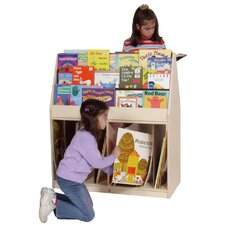 <strong>Steffy Wood Products</strong> Multi-Store Mobile Book Stand