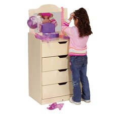 4-Drawer Dresser with Mirror