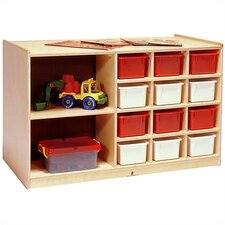 Double-Sided 14 Compartment Cubby