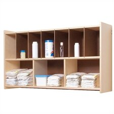 <strong>Steffy Wood Products</strong> Diaper Wall Shelf