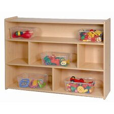 "<strong>Steffy Wood Products</strong> 35"" High Three Shelf Storage"