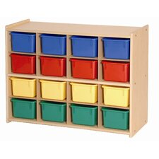 <strong>Steffy Wood Products</strong> 16 Tray Storage Unit