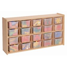 <strong>Steffy Wood Products</strong> 20 Tray Cubby Storage