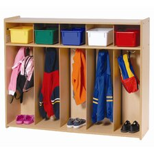 5-Section Toddler Locker