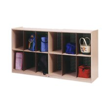 Low 12 Compartment Cubby