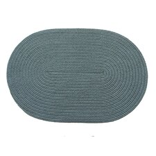 Solid Ocean Blue Indoor/Outdoor Rug