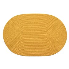Solid Daffodil Indoor/Outdoor Rug
