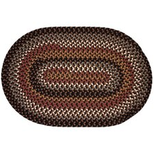 <strong>Rhody Rug</strong> Pilgrim Brown Multi Rug