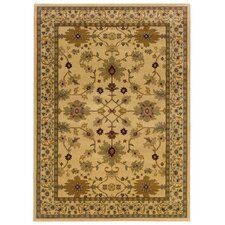 Carlton Ivory/Green Persian Rug