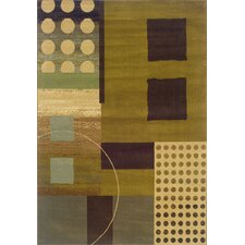 Harrison Green/Brown Rug