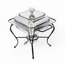 <strong>Star Home</strong> Nickel 2 Qt Square Chafing Dish