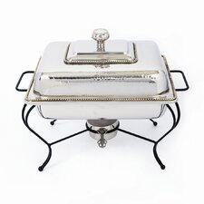 Nickel 6 Qt Rectangle Chafing Dish