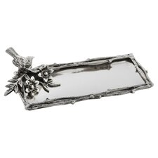 Bird and Branches Rectangular Serving Tray