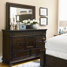 Down Home Door 9 Drawer Dresser
