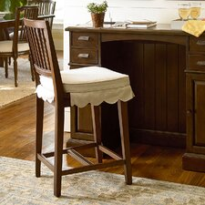 "River House 24"" Bar Stool with Cushion (Set of 2)"