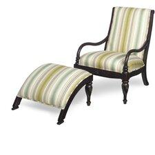 Lismore Chair and Ottoman