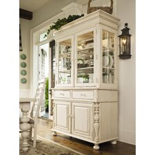 Sweet Tea China Cabinet in Linen