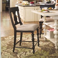 "<strong>Paula Deen Home</strong> Sweet Tea 24"" Bar Stool with Cushion"