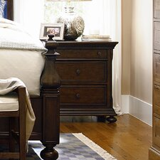 Down Home 3 Drawer Nightstand