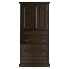 Down Home Organizer Cabinet in Distressed Molasses Finish