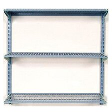 "Storability Wall Mount 34.5"" H 3 Shelf Shelving Unit Starter"
